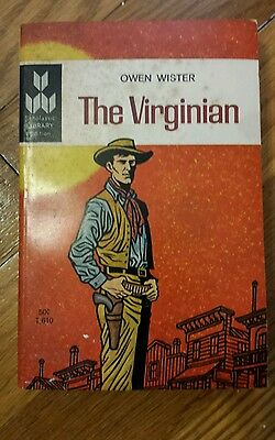 1964 The Virginian by Owen Wister Scholastic Library Edition