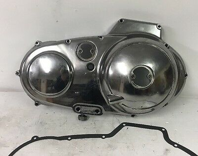 Harley Sportster Chrome Outer Primary Cover, OEM Part # 34950-89, 1986-2003
