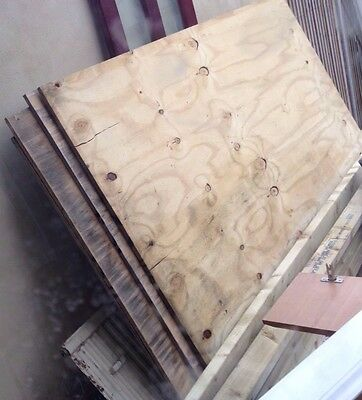 5 Quantity Plywood 8ft x 4ft *USED* - 18mm Thick - Good Condition
