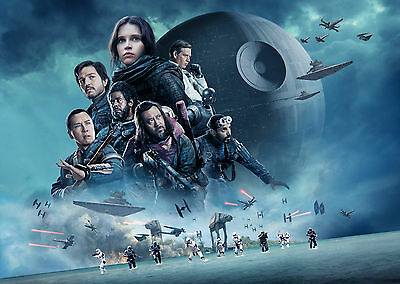 Rogue One: A Star Wars Story (2016) V6 - A1/A2 POSTER *BUY ANY 2 AND GET 1 FREE*