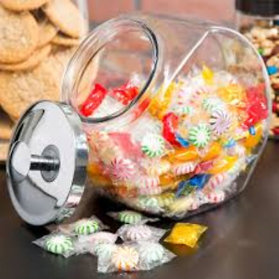 Anchor Hocking 69857r 1/2 Gallon Penny Candy Jar With Cover