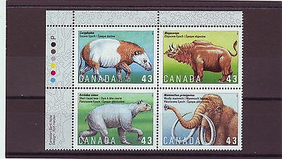 CANADA - SG1613-1616 MNH 1994 PREHISTORIC ANIMALS - 4th SERIES