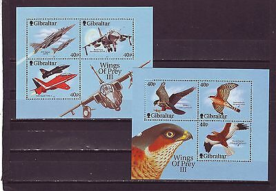GIBRALTAR - SGMS988 MNH 2001 WINGS OF PREY - 3rd SERIES
