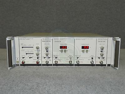 HP 8080A Mainframe 8091A 1GHz Rate Generator 8092A Delay 8093A 1GHz Amp
