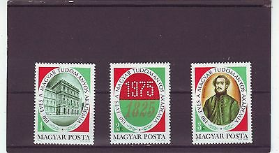 HUNGARY - SG2959-2961 MNH 1975 150th ANNIV ACADEMY OF SCIENCES