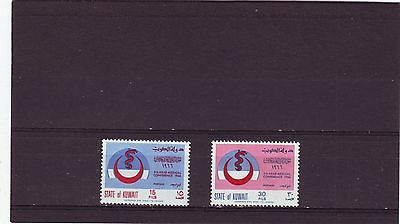 KUWAIT - SG314-315 MNH 1966 5th ARAB MEDICAL CONFERENCE