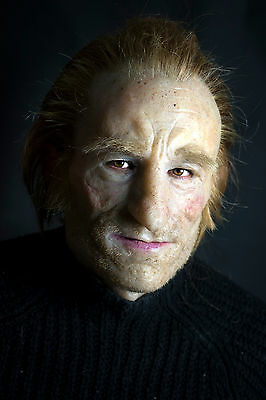 """Silicone Mask Old Man """"Ricardo"""" Hand Made, Halloween High Quality, Realistic,"""