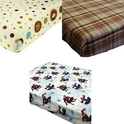 nEw BABY NURSERY CRIB BED FITTED SHEET - Toddler Room Bedding Accessory