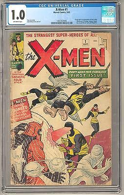 X-Men #1 CGC 1.0 1st Appearance and Origin of The X-Men