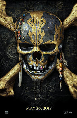 PIRATES OF THE CARIBBEAN DEAD MEN TELL NO TALES Original 27x40 DS Movie Poster