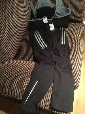 Adidas  - Supernova Cycling Tights And Bib - Cycle Clothing -size XL