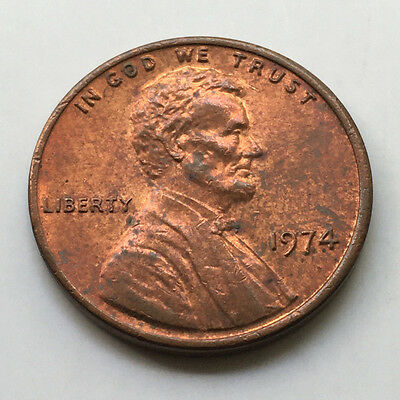 1974 USA One Cent - Lincoln Memorial #N32