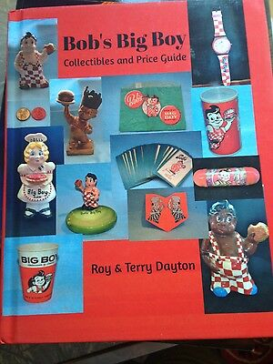 Bob's Big Boy Restaurant Vintage Collectibles Hardcover Book Price Guide