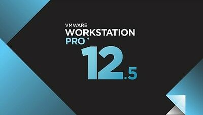 Vmware Workstation Pro 12.5 ( lifetime license) Buy one get one free!