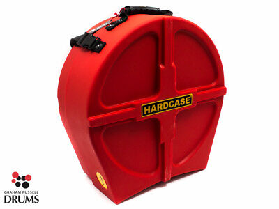 """Hardcase 14"""" Fully Lined Snare Case - Red"""