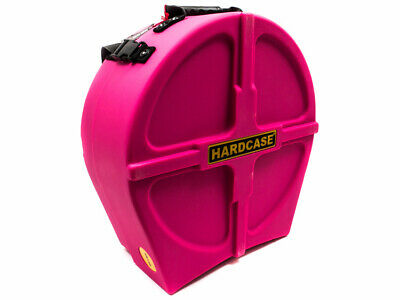 """Hardcase 14"""" Fully Lined Snare Case - Pink"""