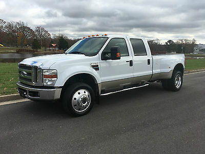 2008 Ford F-450 Lariat 2008 Ford F450 Crew Cab Lariat 4x4 Dually Diesel...NICE... NO RESERVE!!