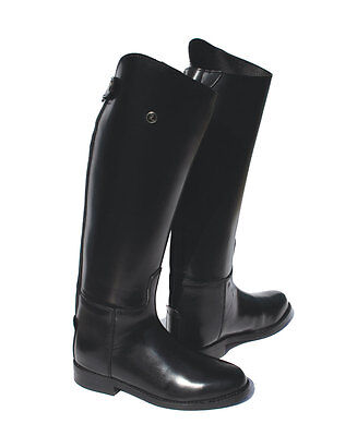 Rhinegold Olympic Long Leather Horse Riding Boots CLEARANCE SALE From £49.99
