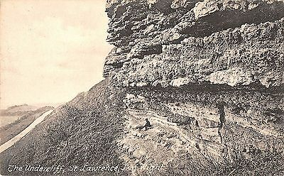 BR78603 the undercliff st lawrence isle of wight   uk