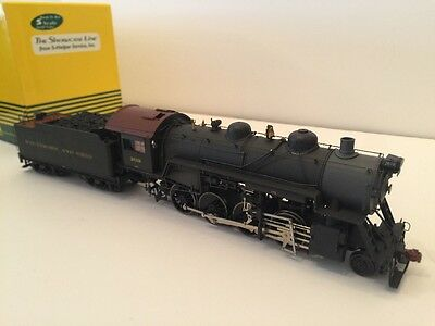 S Scale 2-8-0 B&O DC/ With Scale Wheels