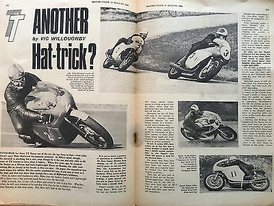 Tt Special. 2 Motor Cycle Guide/reviews 66 & 67 Featuring Mike Hailwood