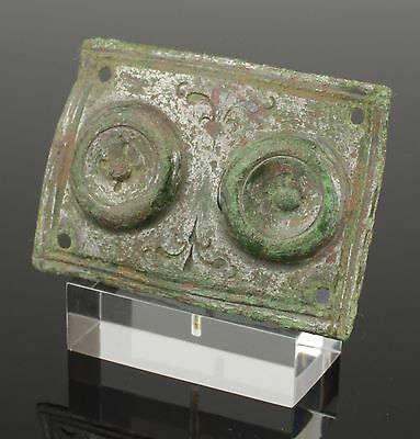 Large Ancient Roman Military Belt Mount - Circa 2Nd Century Ad