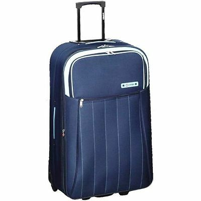 5 Cities Large 72cm Expandable Flight Travel Suitcase Luggage Case Trolley Bag