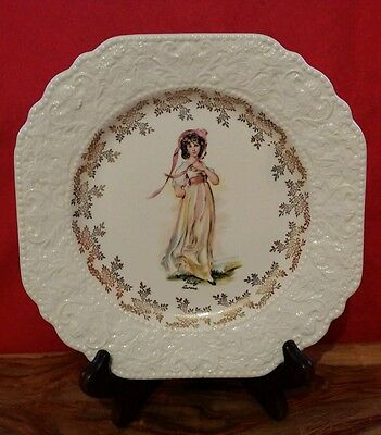 """Vintage Lord Nelson Pottery """"Pinky' Plate by Thomas  Lawrence ~ Wall Art"""