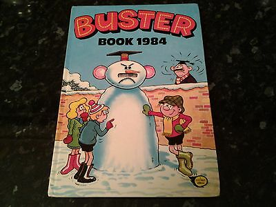 Buster Book 1984 Vintage Annual Christmas