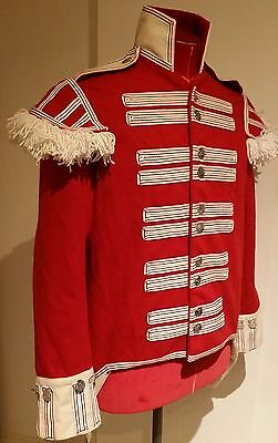 Brilliant Napoleonic Reenactment 43rd Regiment of Foot Scarlet Red Guards Tunic