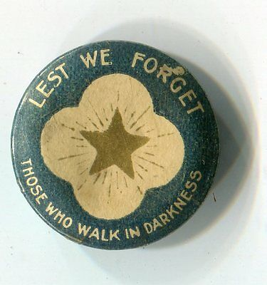 Lest We Forget Button Badge Pin (Lot 3)