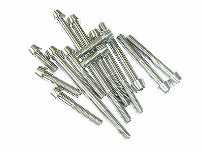 M10X1.25X80mm TITANIUM TAPERED CONE SOCKET CAP HEAD BOLT SCREW GR5 Ti 8mm allen