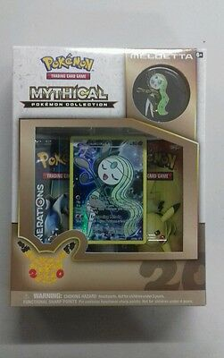 Pokemon TCG Meloetta Mythical Collection Box. New Unopened. UK Seller.