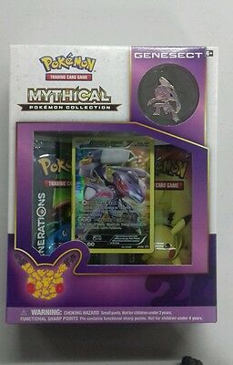 Pokemon TCG GENESECT Mythical Collection Box. New Unopened. UK Seller.