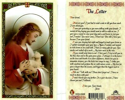 Letter From Jesus, You Must Read How Much He Cares - JimsStoreUSA HC9-260E