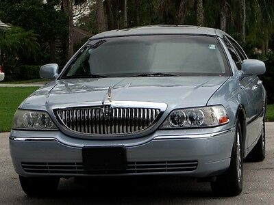 2006 Lincoln Town Car DESIGNER SERIES-TOP-O-LINE-1-OF-A-KIND-LIKE 07 08 FLORIDA PRISTINE-FACTORY NAV-SUNROOF-VOGUE PKG-CHROME PKG-ABSOLUTELY NONE NICER