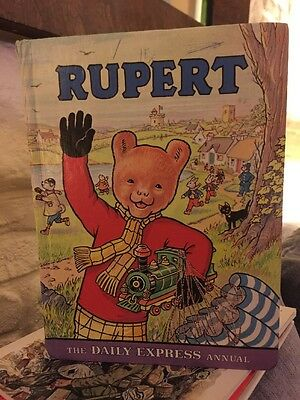 RUPERT 1976 THE DAILY EXPRESS ANNUAL, ---, Good Condition Book