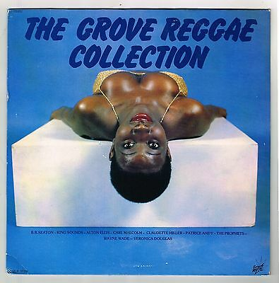 lark LP : VARIOUS-the grove reggae collection  (hear)  reggae roots  yabby u etc