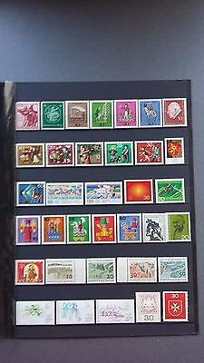 timbres poste neufs** d'Allemagne