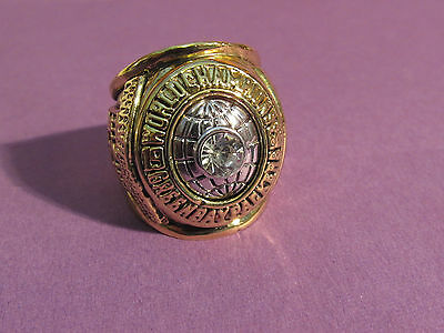 GREEN BAY PACKERS Replica SUPER Bwl Sports Ring 1966 College Rings -CHAMPIONS