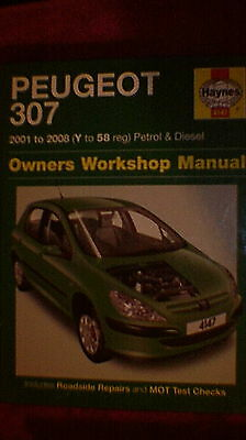 Haynes Owners Workshop Manual - Peugeot 307  2001 - 2008  Petrol & Diesel