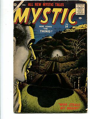 Mystic #54 Affordable Grade Ominous Cover