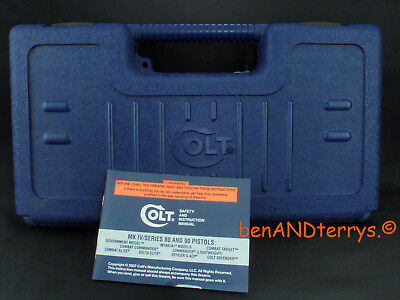 Colt Factory Old Style Defender 45ACP Case Box with Manual