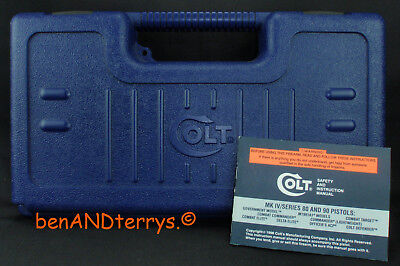 Colt Factory Old Style Defender .45 ACP & Manual Case Box