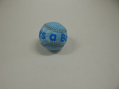 Baby Boy Birth Announcement Special Day Sports Balls IT'S A BOY BASEBALL