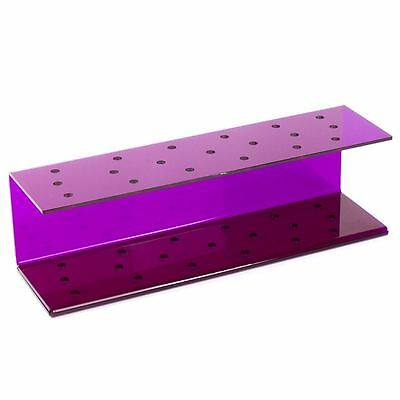 Purple Acrylic Cakepop Display Stand (for up to 19 Pops) Cake Lollipop