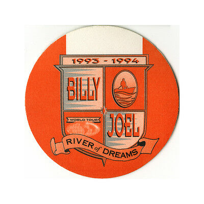 Billy Joel authentic VIP 1993-1994 tour Backstage Pass