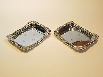 Georgian Style Sterling Silver Nut or Candy Dishes - Birmingham 1991 - 207.4g