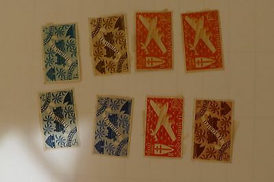 7x Djibouti old stamps ( mail postage postal philately vintage) Africa