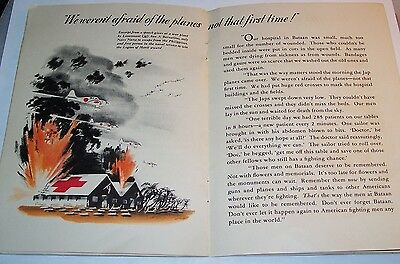 Very Rare Ww2 U.s. Navy & Usmc Commemorative Home Front Booklet: Lest We Forget